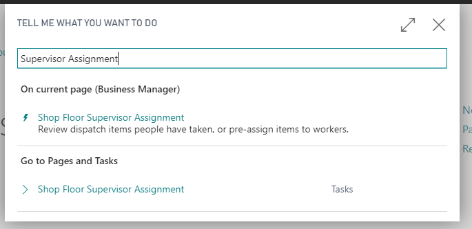 Supervisor Assignment