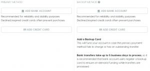 EasyPost Billing Setup