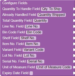 Configure Fields