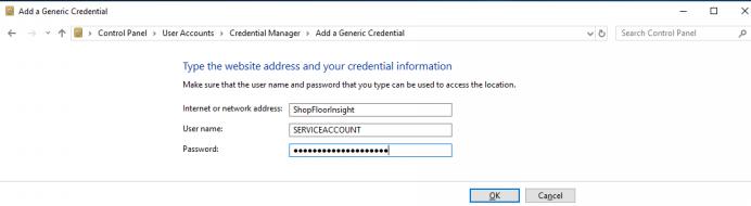 Internet or Network Address