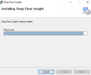 Shop Floor Insight Installation