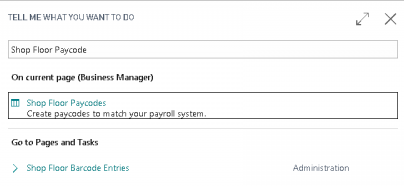 Configure Paycodes
