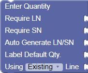 Enter Quantity