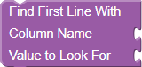 Find First Line With