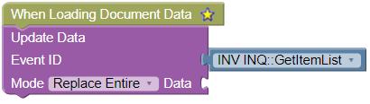 Loading Document Data