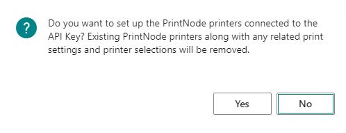 PrintNode Printers