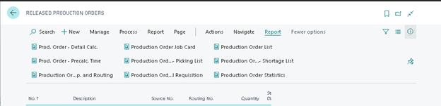 Production Order Job Card