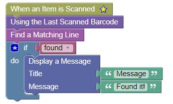 Scanned Item