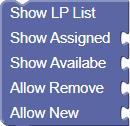 Show LP List