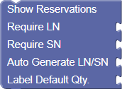 Show Reservations