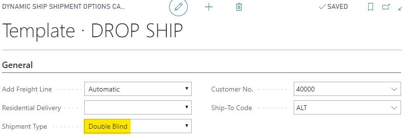 Drop Ship Template