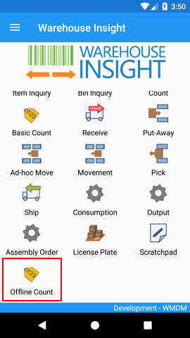 Warehouse Insight Application