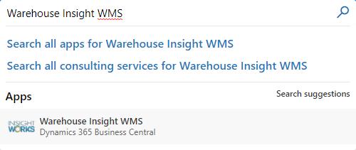 Warehouse Insight WMS