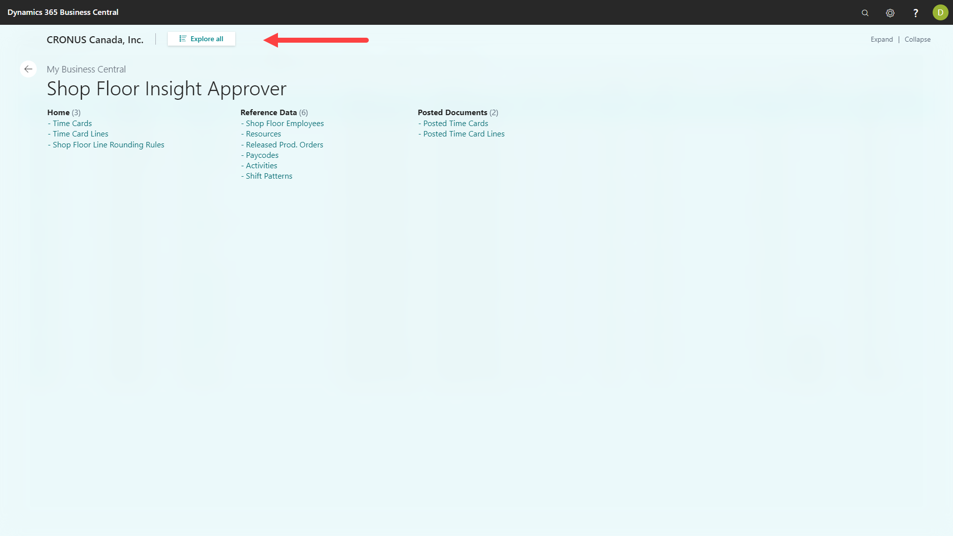 Shop Floor Insight Approver